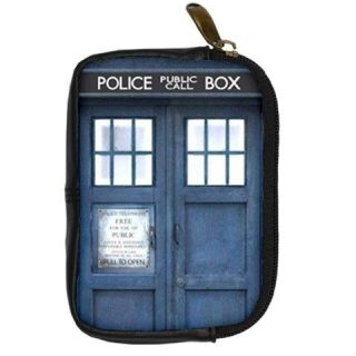 Tardis Police Public Call Box Digital Camera Leather Case Cover Pouch