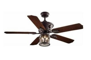 Hampton Bay Milton 52 inch Indoor Outdoor Ceiling Fan with Light Kit