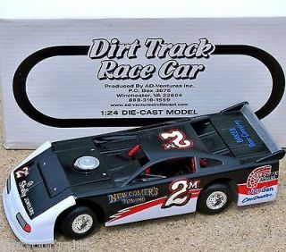 Newcomers Towing York Pa Dirt Track Race Car 1:24 NHRA Modified GMP