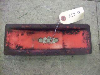 Vintage Jacobsen Lawnmower Lawn Mower Blade Adaptor Stiffiner #167Q