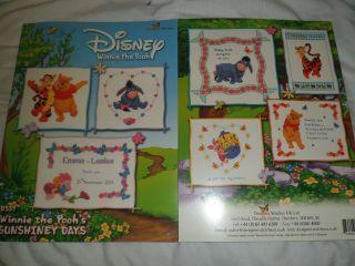 Disneys Winnie The Pooh & Friends Sunshiney Days Cross Stitch