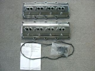 Dodge Chrysler Jeep Mopar 5.7L Hemi chrome valve covers