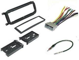 CAR TRUCK STEREO RADIO DASH INSTALLATION KIT W WIRING HARNESS