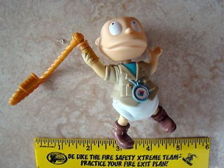 1998 Rugrats Figure Tommy Rugrats Pull Toy with Motion, Burger King