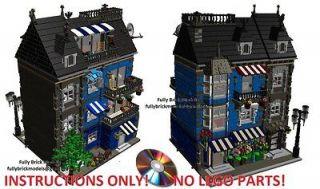 Newly listed Instructions Modular Flower Shop Hall Gothic City Custom