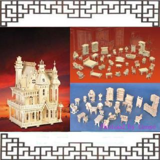 wooden doll houses in Dollhouse Miniatures