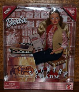 Cracker Barrel Barbie Doll,2000 Special Edition Country Charm