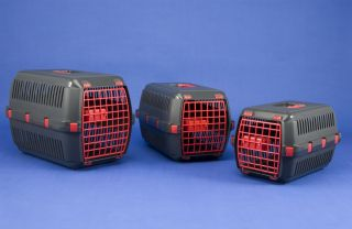 large plastic dog crate in Crates