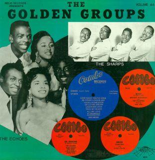 GOLDEN GROUPS Vol 44 COMBO RECORDS Vol 2 LP NEW SEALED VINYL DOO WOP