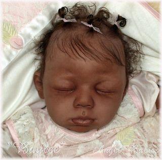 Reborn Vinyl Doll Kit Baby Biracial BAYLEE Lorna Sands