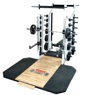 Double Half Rack Power Home Gym Squat Cage Smith Machine Weight