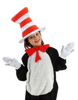 Dr. Seuss Cat In The Hat Costume Accessories Kit, Kids