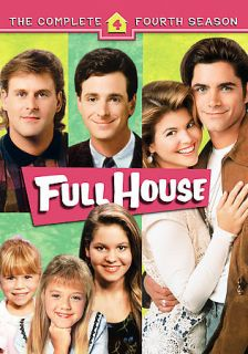 Full House The Complete Fourth Season (DVD, 2006, 4 Disc Set)