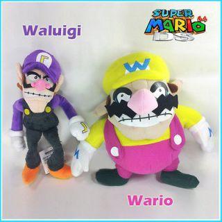 Super Mario Bros Wario & Waluigi Plush Soft Toy Stuffed Animal 11