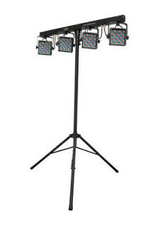 Chauvet MINI4BAR2.0 Mini 4BAR 2.0 Mobile LED DJ Stage Wash Light