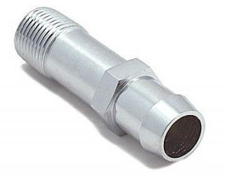SPECTRE Chrome Heater Hose Fitting 1/2 NPT to 3/4 5954