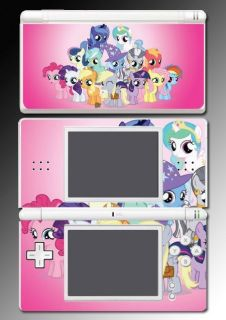 Pony MLP Pinky Pie Derpy Rariy Game Skin Cover 2 for Ninendo DS Lie