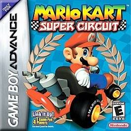 Gameboy Advance Game   Mario Kart Super Circuit   Plays on DS Lite
