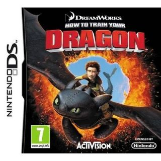 How To Train Your Dragon Game DS Nintendo NDS DS Lite DSi XL Brand New