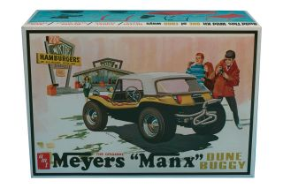 AMT Meyers Manx Dune Buggy model kit 1/25