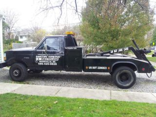 1992 F450 Wrecker, Self Loader, Repo Truck, Tow Truck