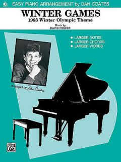 easy piano sheet music in Song Books