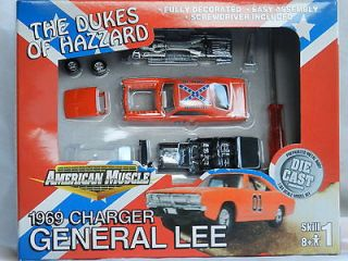 Dodge Charger General Lee 164 Scale Model Sealed Dukes Of Hazzard