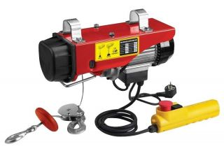 Scaffold Winch Electric Workshop Garage Hoist 250kg Lifting 240V