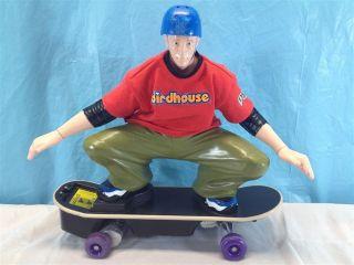 Tyco R/C Tony Hawk BIRDHOUSE Remote Control Skateboard  Red Shirt