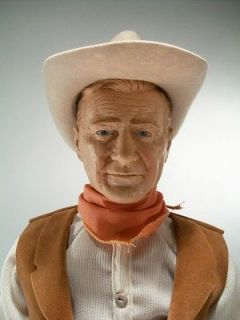 Vintage 1983 Effanbee Symbol of the West John Wayne Doll Action Figure