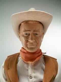 Vintage 1983 Effanbee Symbol of the West John Wayne Doll Action Figure