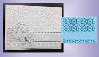 Kimberlys Card Universal Embossing Folder by Cuttlebug