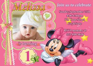 1st birthday invitations in Printing & Personalization