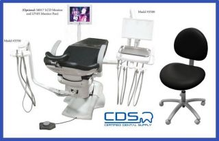 TPC MIRAGE HYDRAULIC CHAIR PACKAGE 4000 + Free Dr. stool   CDS