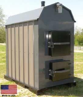 FURNACE BOILER Outdoor   Wood Burning   360,000 BTU   8,000 Sq Ft
