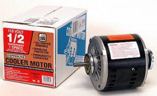 HP 115 Volt 1 Speed Evaporative Swamp Cooler Motor