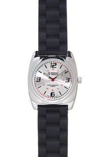 Prestige Medical Silicone Braid Nurse Wristwatch  3 Colors Black Pink