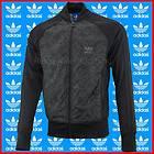 Adidas Originals SST Fab Mix Super Bomber Jacket Black Sportswear