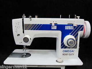 Industrial Strength Omega Sewing Machine Heavy Duty Great for Leather