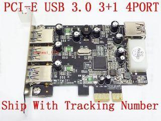 PCIE PCI E PCI E USB3.0 3.0 3+1 4 PORT LOW PROFILE BRACKET WINDOWS 7