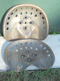 New Old Antique Style Tractor or Horse Drawn Farm Machine Metal Seats