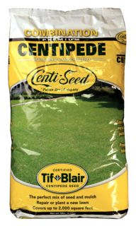 Centipede Grass Seed + Mulch (5 Lb.) Direct From the Family Farm