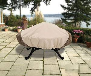 round fire pit cover in Patio & Garden Furniture