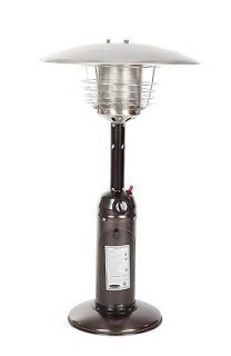Fire Sense Propane Table Top Patio Heater, Old World Bronze