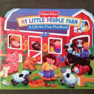 My Little People Farm   1997, Board Book, Lift Flaps