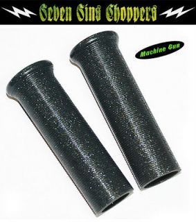 MACHINE GUN Galaxy Grips Metal Flake Chopper Bobber Harley