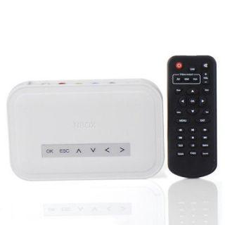 HDD TV RM RMVB  Divx SD Card Media Player EN24H High Quality Hot