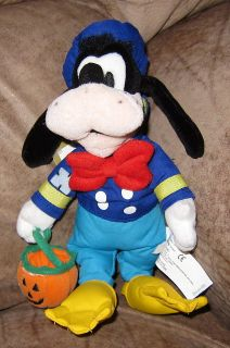 NEW Halloween GOOFY in Donald Duck Costume Plush TOY Disney Decor