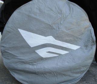 16 FleetWood Grey Vinyl Spare Tire Wheel Rim Cover RV Motorhome