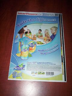 NOV 5 FLYERS, PRE CUT COUPONS, CANADIAN ONLY, AIRWICK, LYSOL
